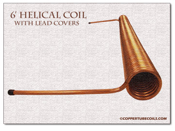 helical coil with fittings   ©coppertubecoils.com