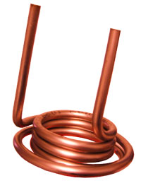 double coiled copper tube   ©coppertubecoils.com